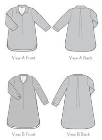 Liesl and Co. Sewing Patterns Gallery Tunic