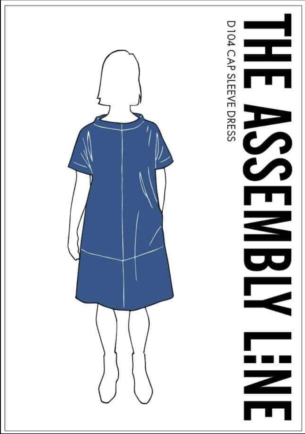 The Assembly Line CAP SLEEVE DRESS PATTERN