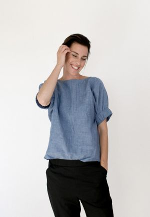 The Assembly Line CUFF TOP PATTERN XS-L