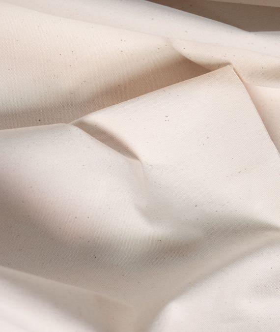 Cotton Canvas Fabric - Undyed