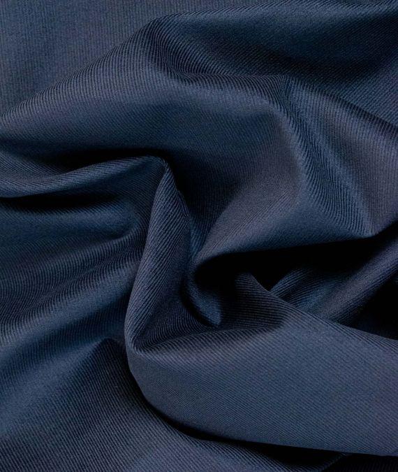 Cotton Corduroy Fabric - Needlecord - Navy