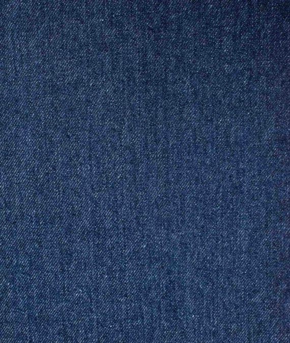 Cotton Denim Fabric - Washed Indigo - 11oz