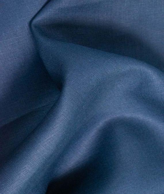 Irish Linen Fabric - Mid Weight - Indigo