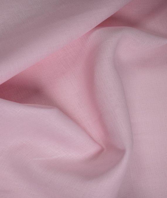 Irish Linen Fabric - Mid Weight - Pink