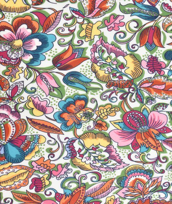 Liberty of London Tana Lawn Cotton Fabric - SS21 - Passion