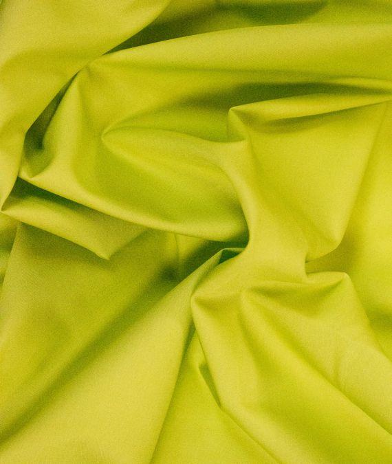 Plain Cotton Poplin Fabric - Chartruese