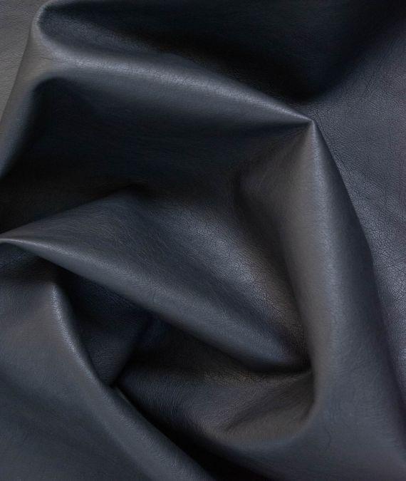 Soft Vegan Leather Fabric - Black