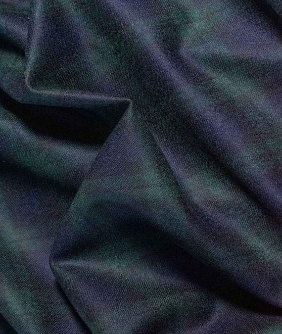 Wool Tartan Fabric - Blackwatch
